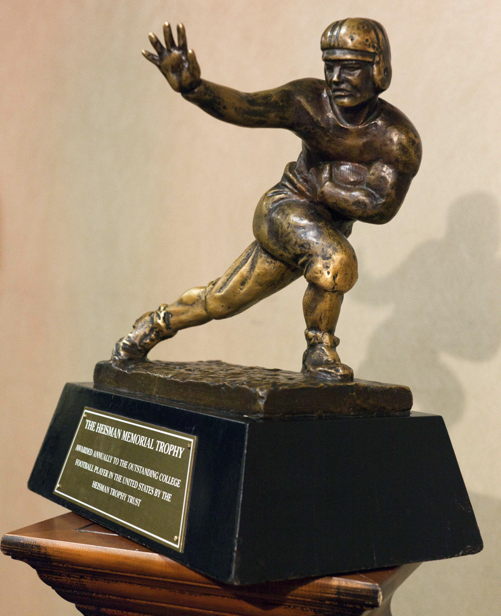 The Happy Heisman.